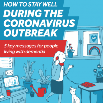 5 key messages for people living with dementia in Surrey during the Coronavirus outbreak