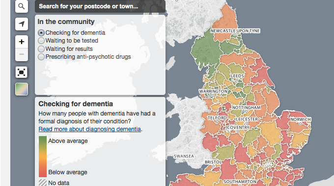 Putting dementia on the map