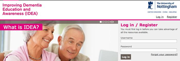Improving Dementia Education and Awareness (IDEA)