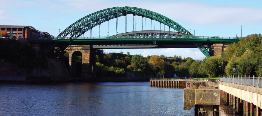 The Wearmouth Bridge in Sunderland http://www.geograph.org.uk/photo/2842277 for NZ3957 http://www.geograph.org.uk/gridref/NZ3957 © Steve Daniels http://www.geograph.org.uk/profile/32787. Licence http://creativecommons.org/licenses/by-sa/2.0/